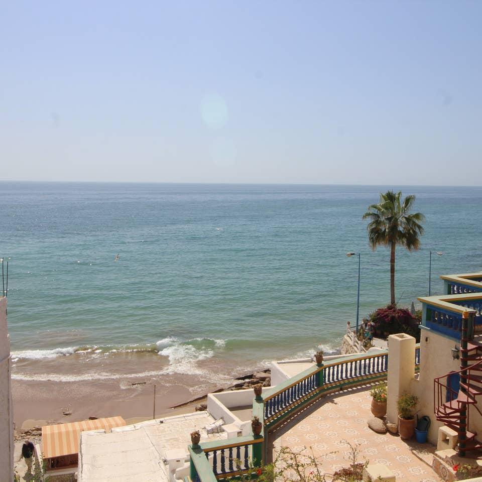 La suite océan avec balcon vue sur l'océan